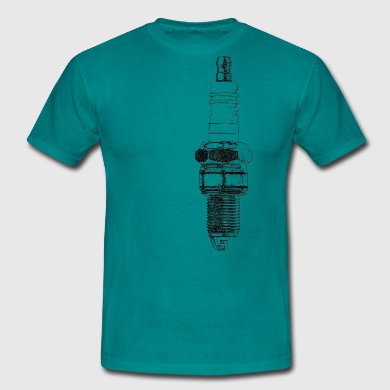 Zündkerze - Männer T-Shirt