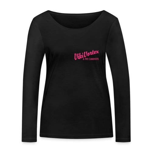 Black Zippy New Logo - Women's Organic Longsleeve Shirt by Stanley & Stella