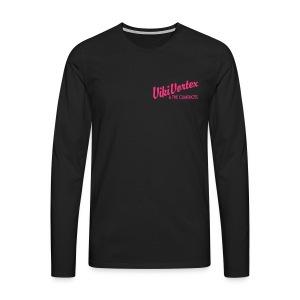 Black Zippy New Logo - Men's Premium Longsleeve Shirt