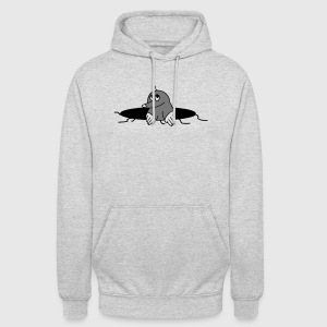grappig mol Tops - Hoodie unisex