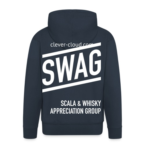 Scala And Whisky App. Group - Men's Premium Hooded Jacket