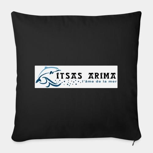 Logo Itsas Arima - Housse de coussin décorative 44x 44cm