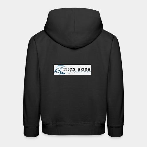 Logo Itsas Arima - Pull à capuche Premium Enfant