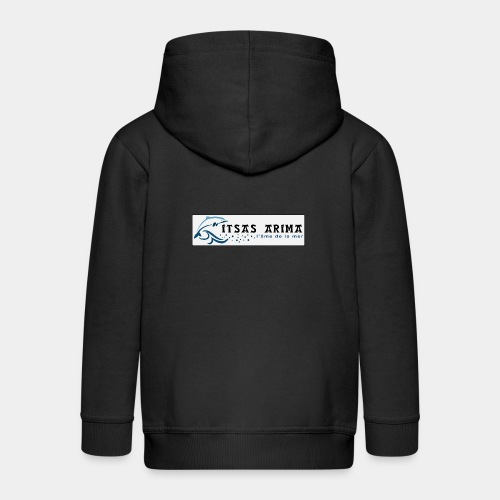 Logo Itsas Arima - Veste à capuche Premium Enfant