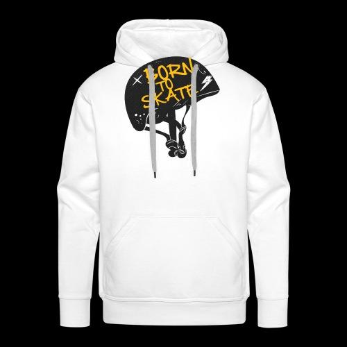 Born to skate - Sweat-shirt à capuche Premium pour hommes
