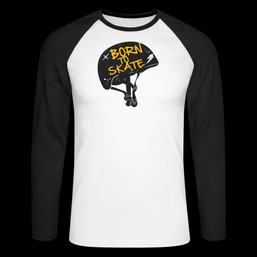 Born to skate - T-shirt baseball manches longues Homme
