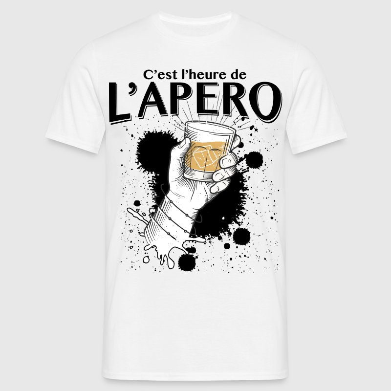apero time Tee shirts - T-shirt Homme