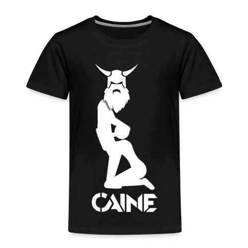 Caine Logo White - Kids' Premium T-Shirt