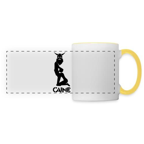 Caine Logo Black - Panoramic Mug