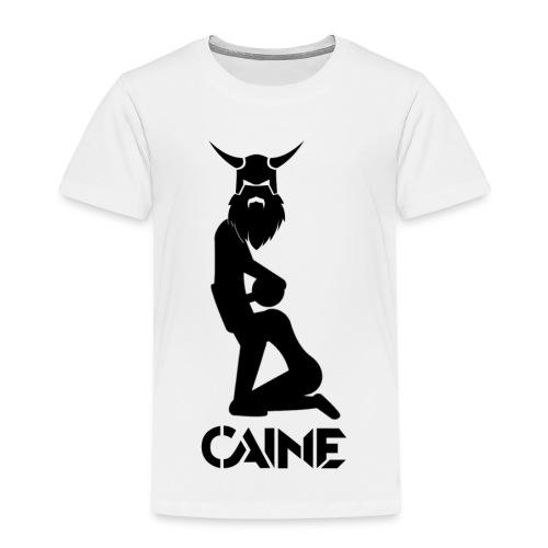 Caine Logo Black - Kids' Premium T-Shirt