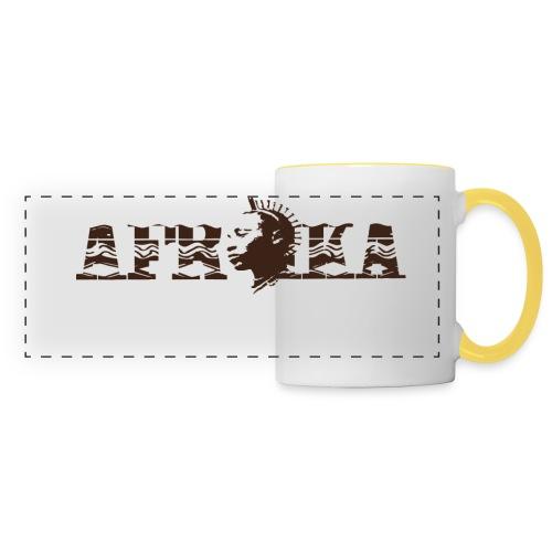 AFRIKA - Mug panoramique contrasté et blanc