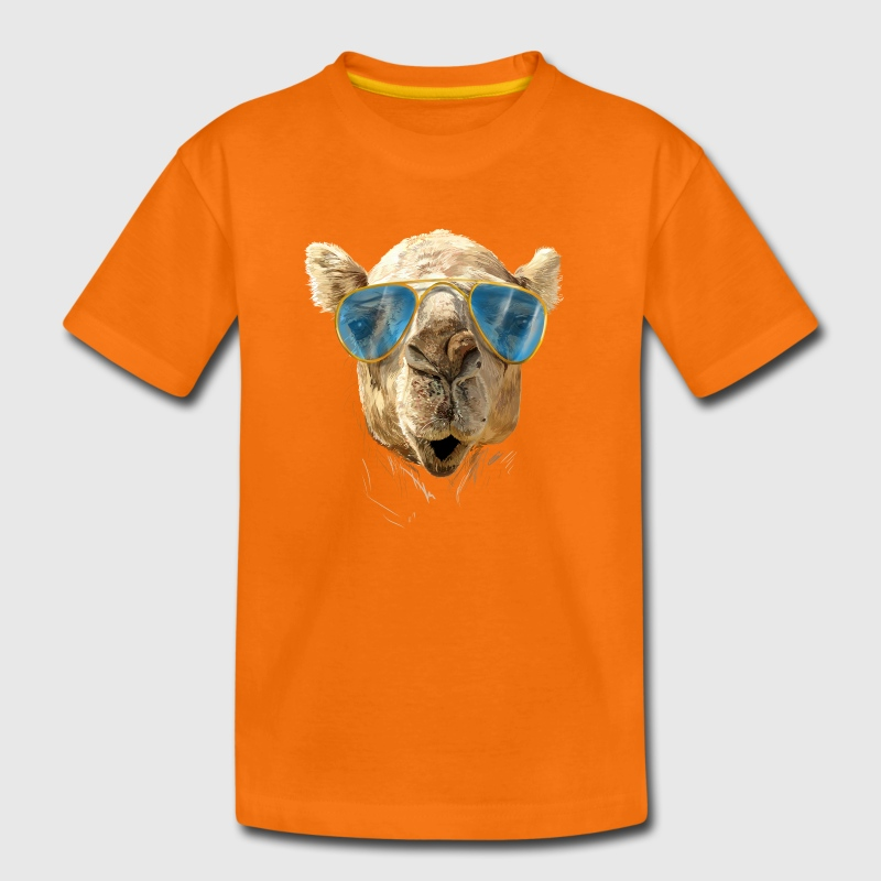 Camel with sunglasses Shirts - Kids' Premium T-Shirt
