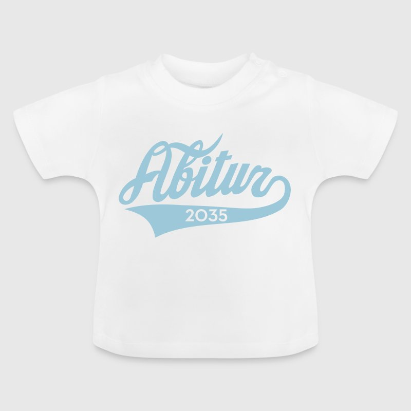 Abitur 2035 Classic American Style Baby T-Shirts - Baby T-Shirt