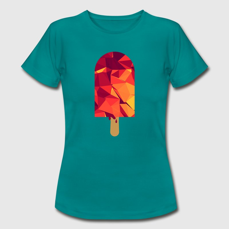 Popsicle (Low Poly) T-Shirts - Women's T-Shirt