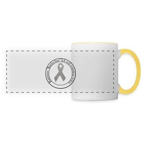Button mit Logo - Panoramatasse