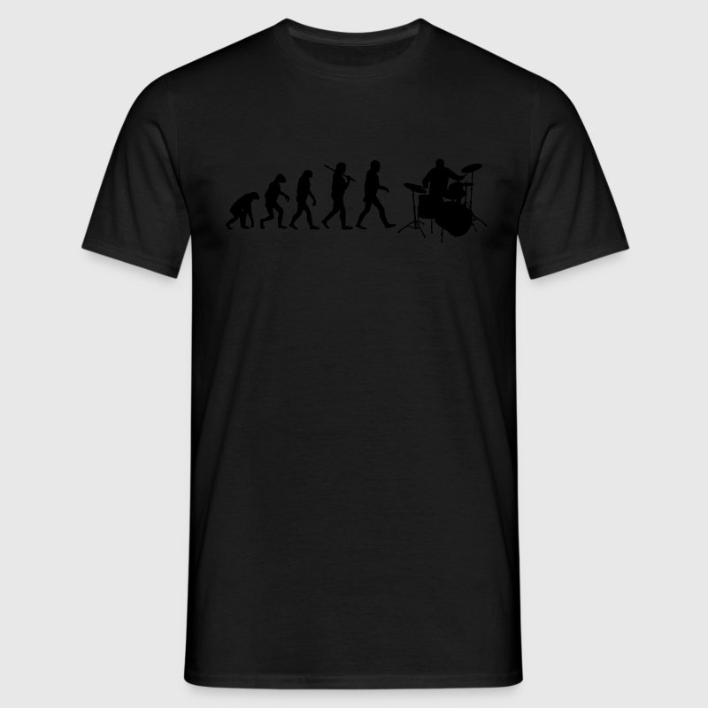 evolution of drums T-Shirts - Männer T-Shirt