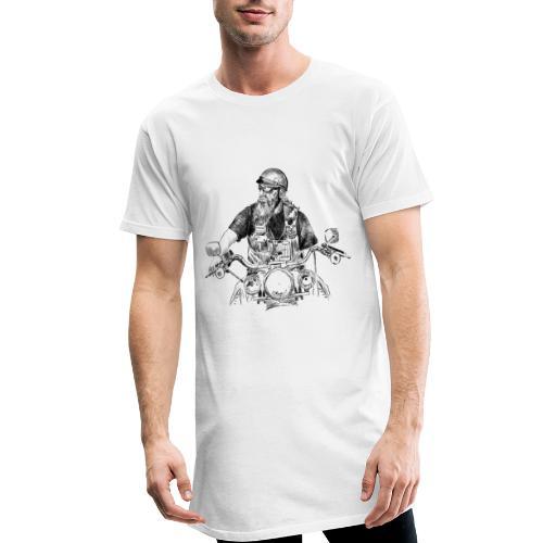 Motero - Camiseta urbana para hombre