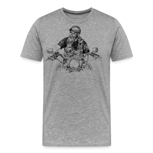 Motero - Camiseta premium hombre