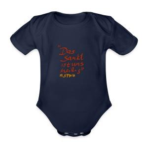 Das Sankt ist uns heilig - Baby Bio-Kurzarm-Body