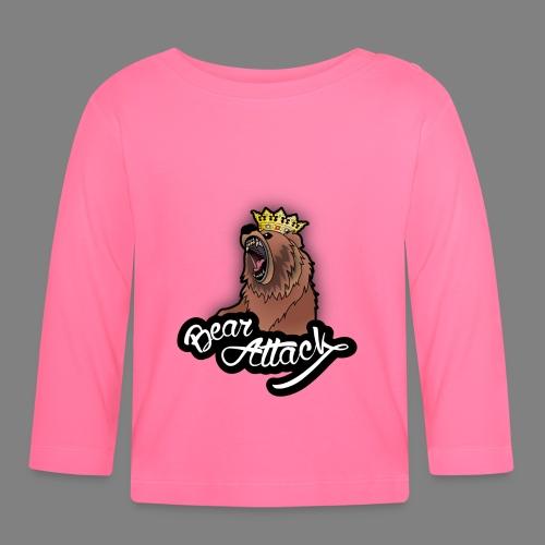 Bären-Attacke - Baby Langarmshirt