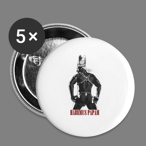 Habemus Papam! - Buttons groß 56 mm (5er Pack)