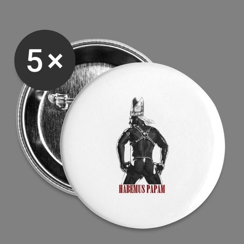 Habemus Papam! - Buttons mittel 32 mm (5er Pack)