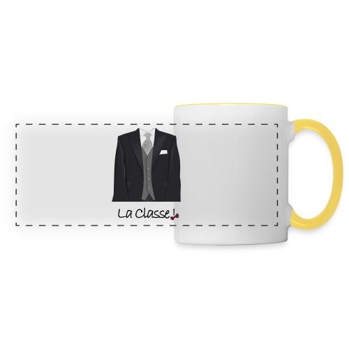 Costume La classe ! - Mug panoramique contrasté et blanc