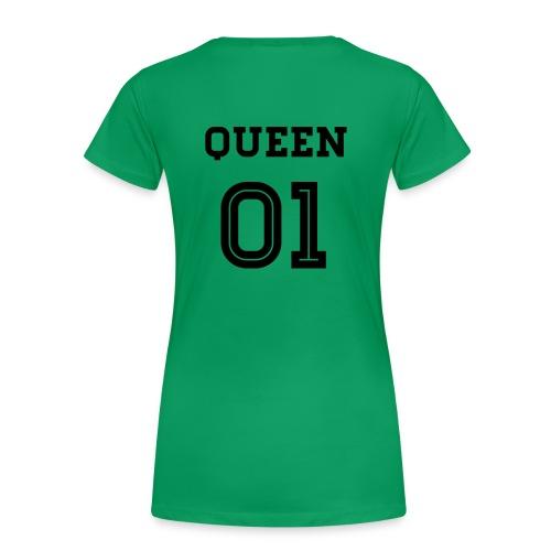 Queen 01 - Frauen Premium T-Shirt