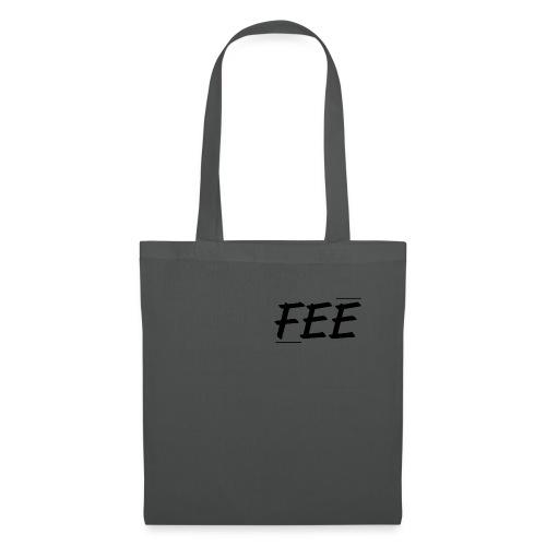 Tee shirt près du corps Homme - gris foncé - logo noir - Tote Bag