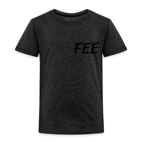 Tee shirt près du corps Homme - gris foncé - logo noir - T-shirt Premium Enfant