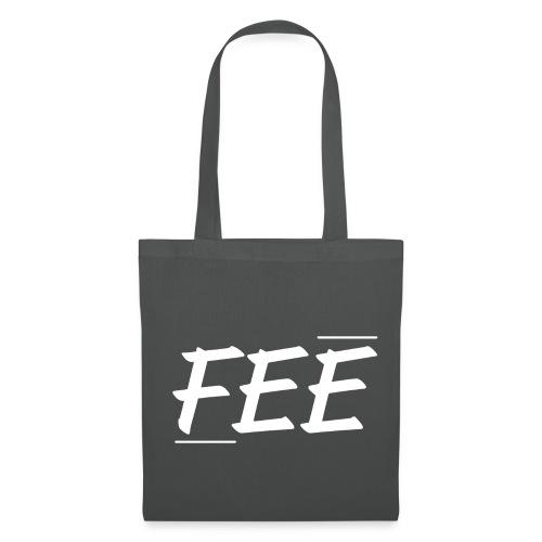 Tee shirt près du corps Homme - gris foncé - logo blanc - Tote Bag