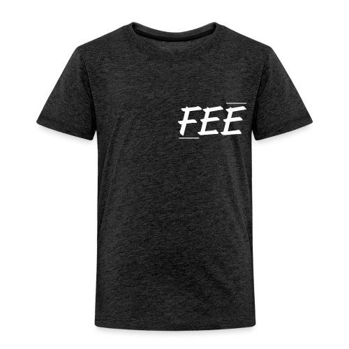 Tee shirt près du corps Homme - gris foncé - logo blanc - T-shirt Premium Enfant