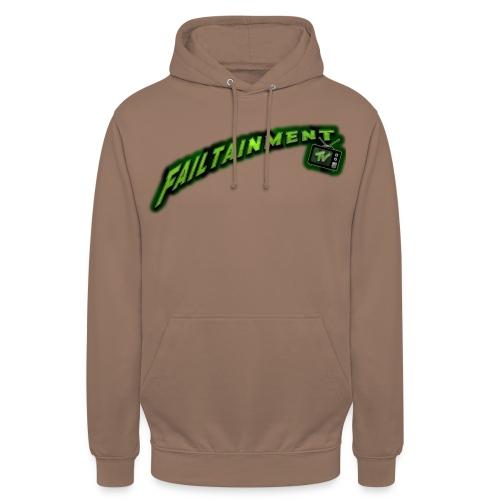 Failtainment_TV Logo pure brown - Unisex Hoodie
