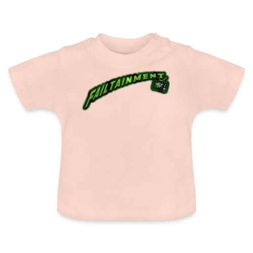 Failtainment_TV Logo pure brown - Baby T-Shirt
