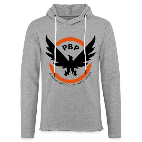 The Pixel Division PBP Logo Shirt (Grey) - Light Unisex Sweatshirt Hoodie