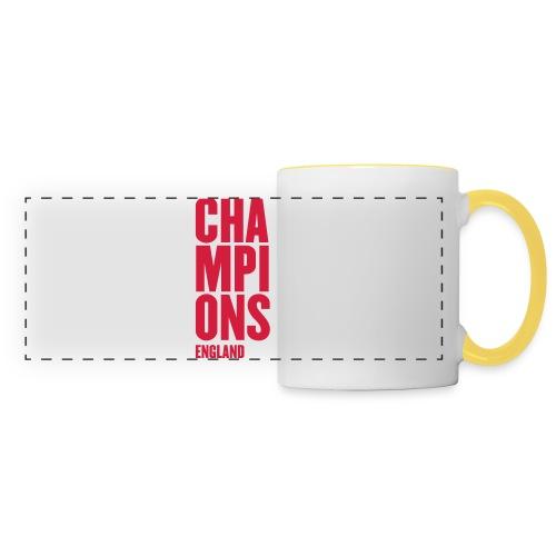 England Champions - Mens Tshirts - Panoramic Mug