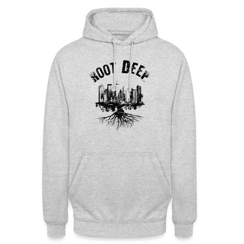 Root deep Urban schwarz Sonstige - Unisex Hoodie