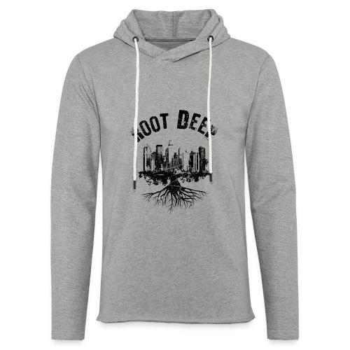 Root deep Urban schwarz Sonstige - Leichtes Kapuzensweatshirt Unisex