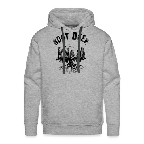 Root deep Urban schwarz Sonstige - Männer Premium Hoodie
