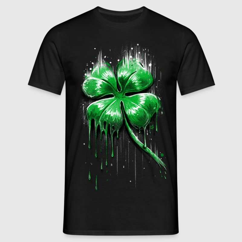 Four Leaf Clover T-Shirts - Men's T-Shirt
