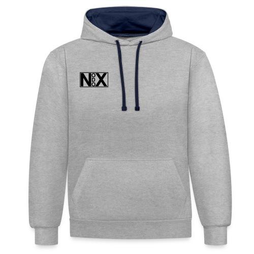 Nodox Classic-Hoodie - Contrast Colour Hoodie
