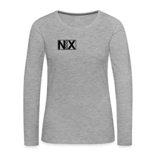 Nodox Classic-Hoodie - Women's Premium Longsleeve Shirt
