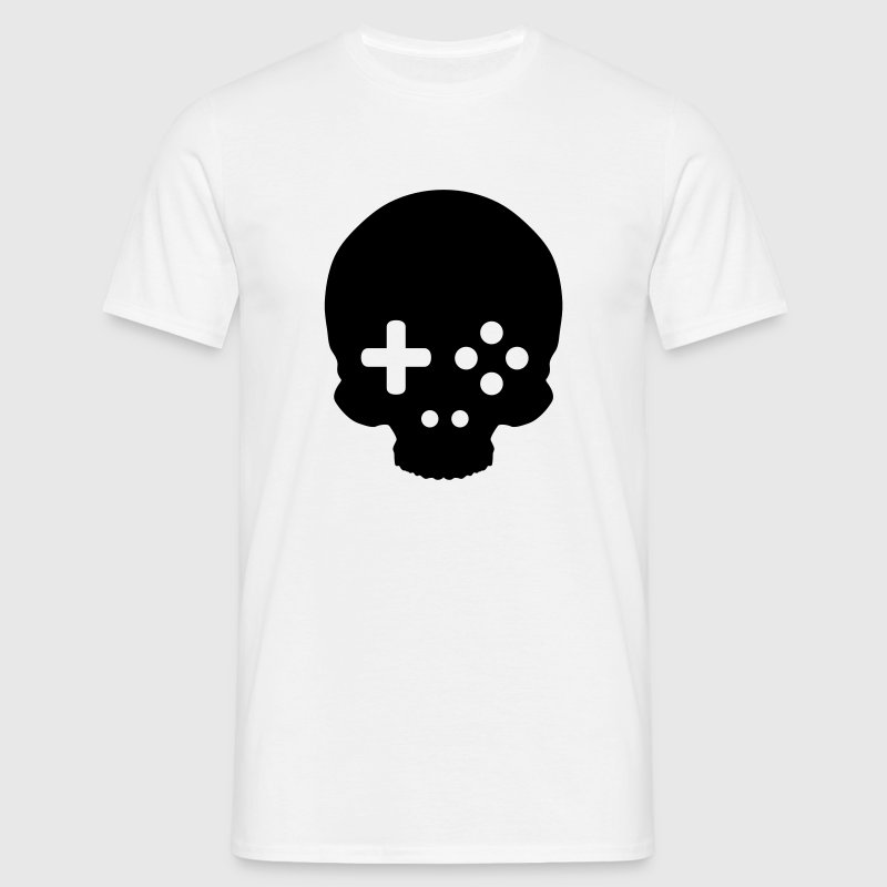 Game Controller Skull T-Shirts - Men's T-Shirt