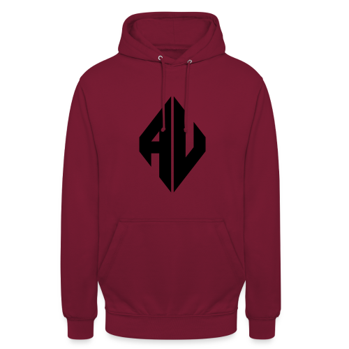 AveR Kontrast-Pullover | Logo schwarz - Unisex Hoodie