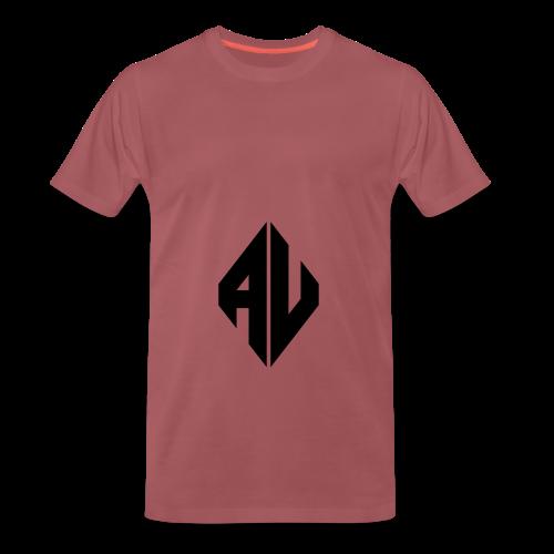 AveR Kontrast-Pullover | Logo schwarz - Männer Premium T-Shirt