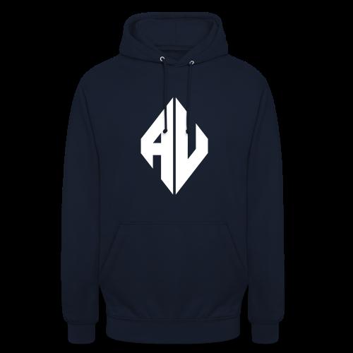 AveR Kontrast-Pullover | Logo weiß - Unisex Hoodie