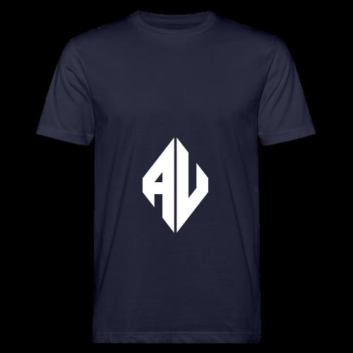AveR Kontrast-Pullover | Logo weiß - Männer Bio-T-Shirt