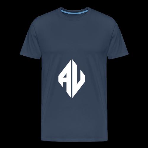 AveR Kontrast-Pullover | Logo weiß - Männer Premium T-Shirt