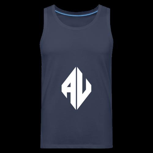 AveR Kontrast-Pullover | Logo weiß - Männer Premium Tank Top