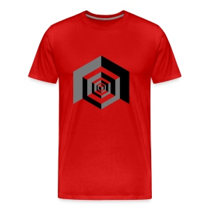 CUBES optical illusion - Mannen Premium T-shirt